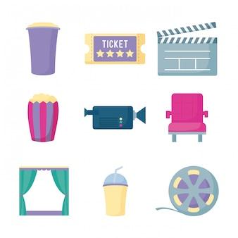 Zestaw filmów kinowych