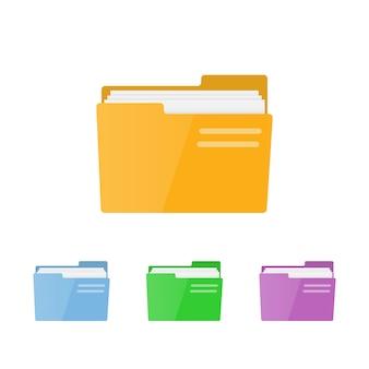Zestaw folderów dla aplikacji