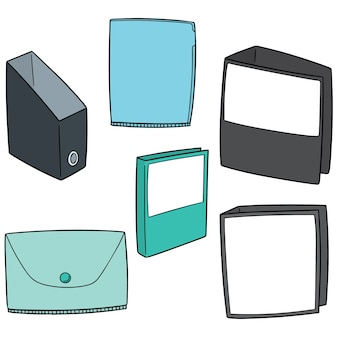 Zestaw folderów
