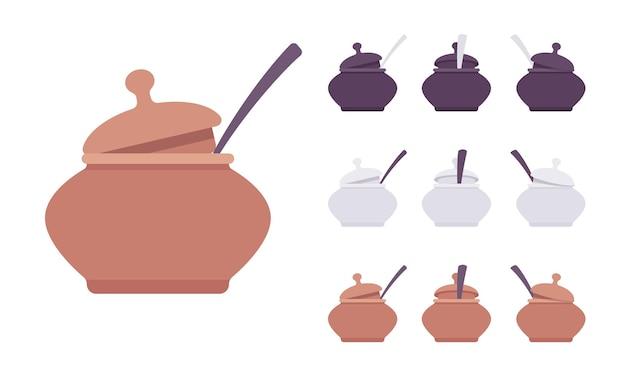 Zestaw garnków, sprzęt kuchenny