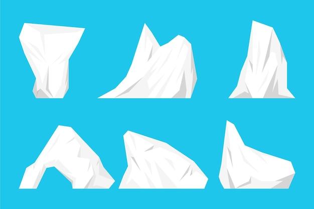 Zestaw góry lodowej