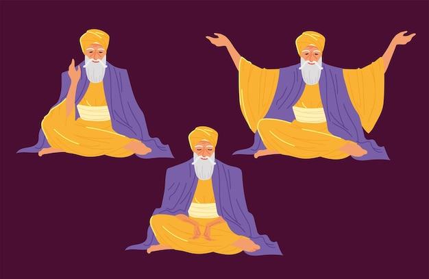 Zestaw guru nanak jayanti