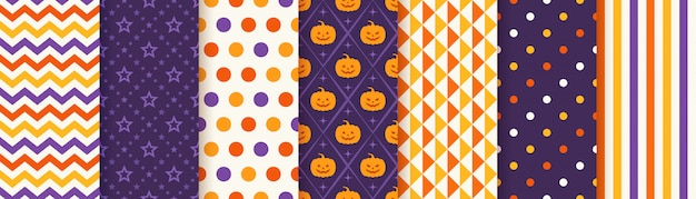 Zestaw halloween wzór