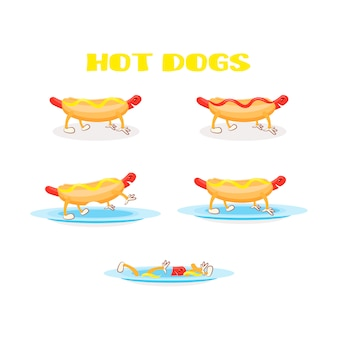 Zestaw hot-dog