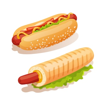 Zestaw hot dog