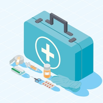 Zestaw i zestaw pierwszej pomocy