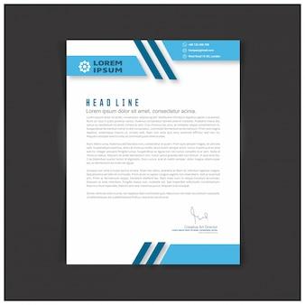 Zestaw identyfikacyjny korporacyjny lub zestaw do swojej firmy szablony liter szablonów litery szablonu do edycji tekstu w formacie eps
