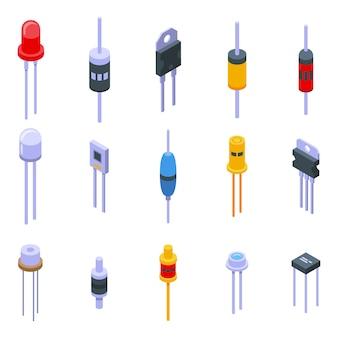 Zestaw ikon diod