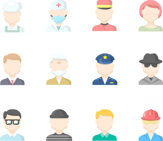 Zestaw ikon interfejsu użytkownika