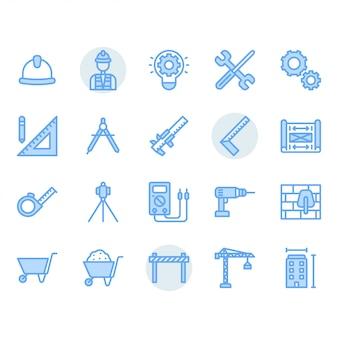 Zestaw ikon inżynierii