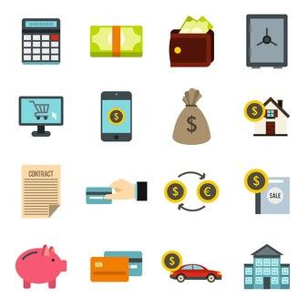 Zestaw ikon kredytowych