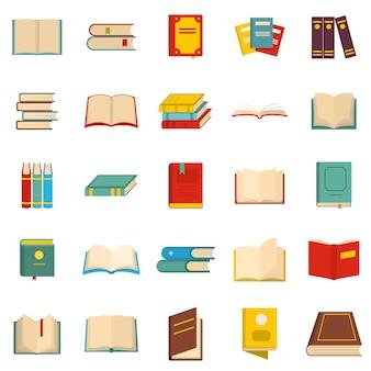 Zestaw ikon książek