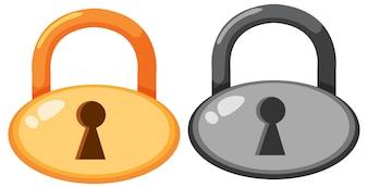 Zestaw ikon lockpada