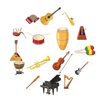 Zestaw ikon muzycznych