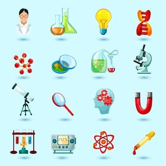 Zestaw ikon nauki