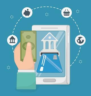 Zestaw ikon płatności online