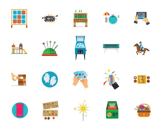 Zestaw ikon rozrywki