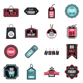 Zestaw ikon sprzedaży