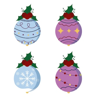 Zestaw ikon świątecznych