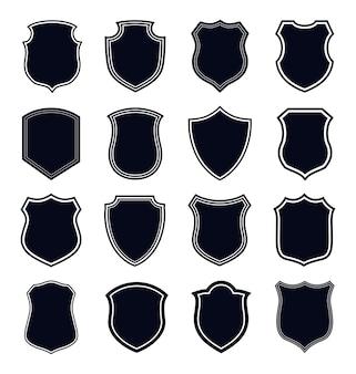 Zestaw ikon tarczy