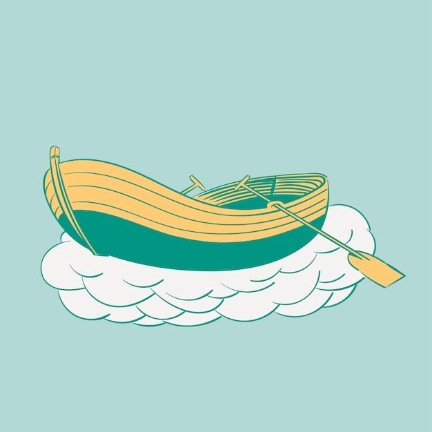 Zestaw ilustracji rysunek wanderlust ikon