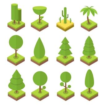 Zestaw izometryczny drzewa
