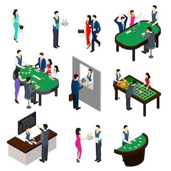Zestaw izometryczny kasyna