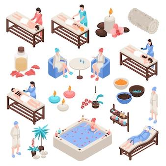 Zestaw izometryczny spa i urody