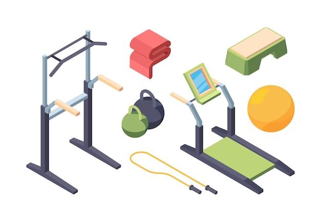 Zestaw izometryczny sprzęt do ćwiczeń fitness