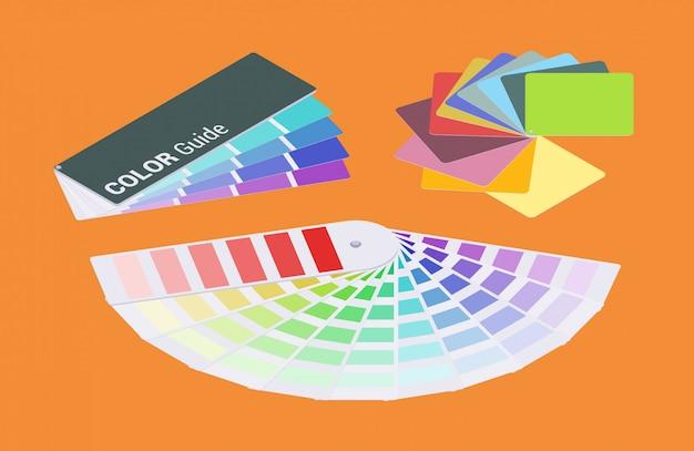 Zestaw izometrycznych przewodników kolorów
