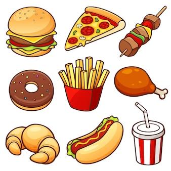 Zestaw jedzenia