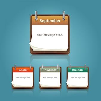 Zestaw kalendarzy