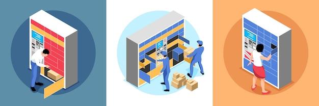 Zestaw kart z dostawami