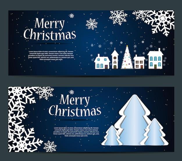 Zestaw kart z gwiazdami christmas balls i płatkami śnieguilustracja wektorowa