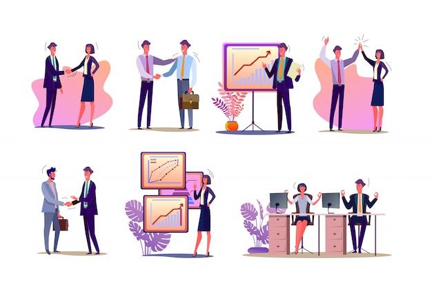 Zestaw kierowników projektów