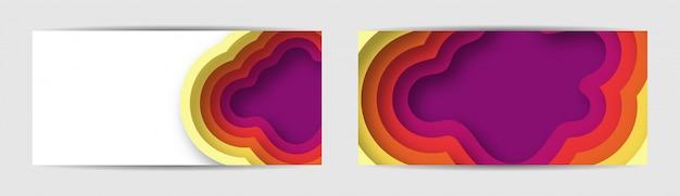 Zestaw kolorowe tło gradientowe transparent