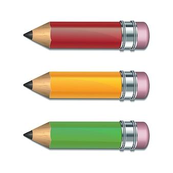 Zestaw kolorowych ołówków.