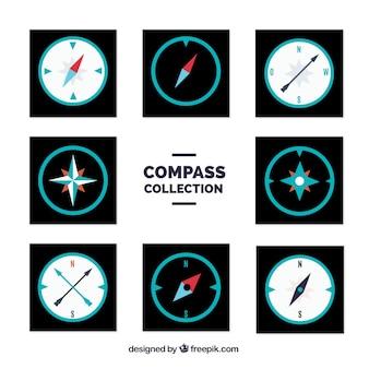 Zestaw kompasowy ośmiu