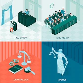 Zestaw kompozycji prawa izometrycznego