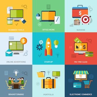 Zestaw koncepcji biznesowych