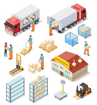 Zestaw koncepcji dostawy