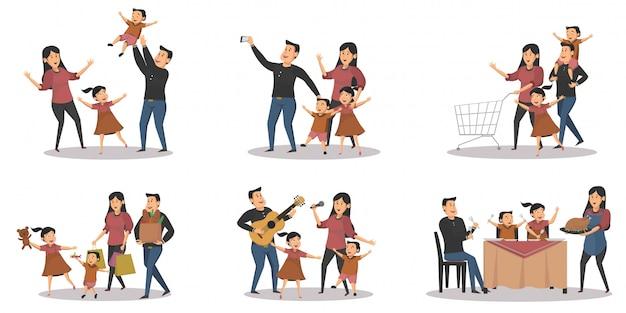 Zestaw koncepcji działalności rodziny
