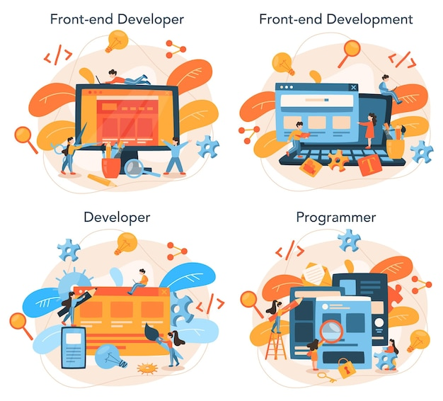 Zestaw koncepcji rozwoju front-end
