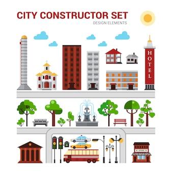 Zestaw konstruktorów miejskich