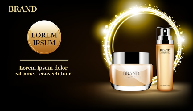Zestaw kosmetyczny z reklamą zaćmienia słońca