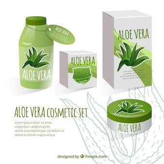 Zestaw kosmetyków aloe vera