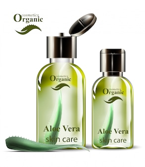 Zestaw kosmetyków ekologicznych aloe vera