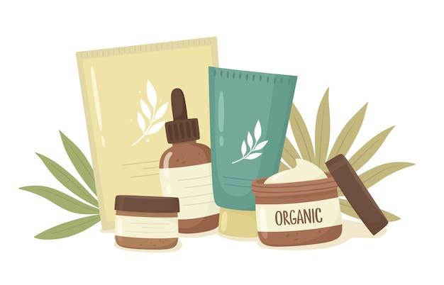 Zestaw kosmetyków organicznych