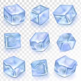 Zestaw kostek lodu
