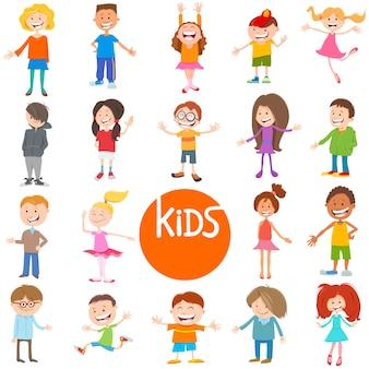 Zestaw kreskówek dla dzieci i nastolatków